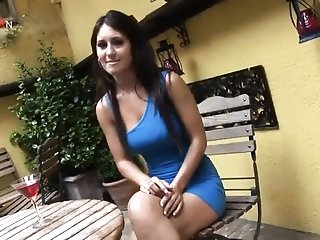 Brilliant Astounding greased Up cocoa haired thingers close by porn toy